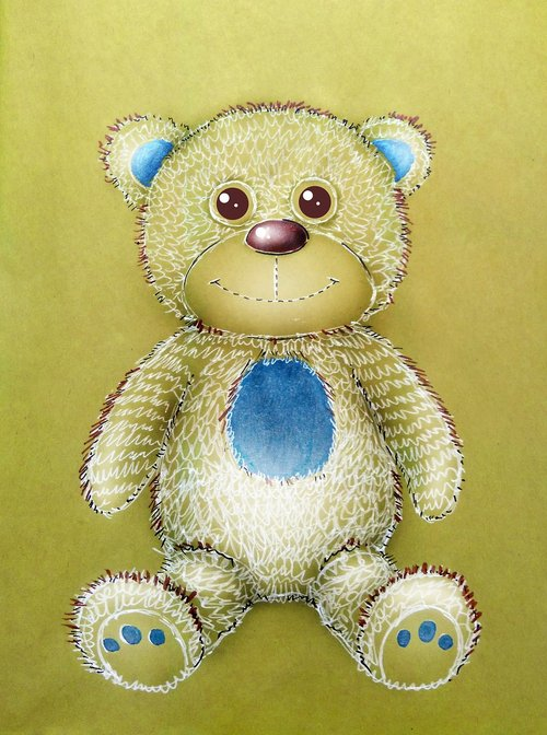 toy  bear  teddy