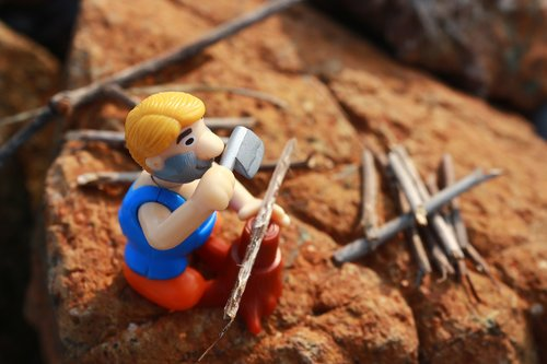 toy  lumberjack  ax