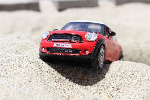 toy car mini cooper