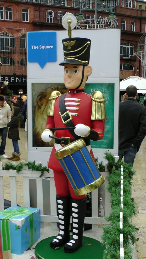 Toy Soldier Drumming