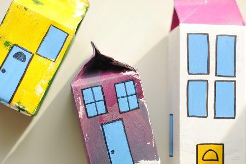 toy village milk carton craft craft
