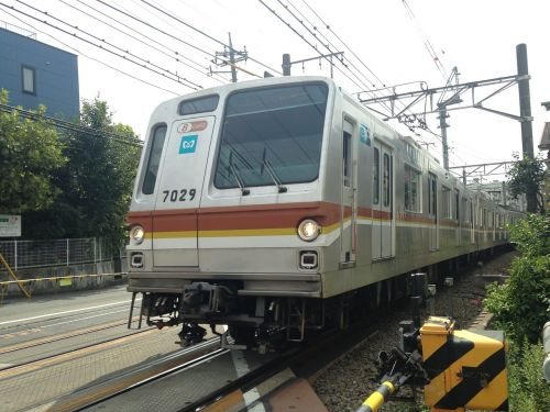 toyoko electric train lead vehicle