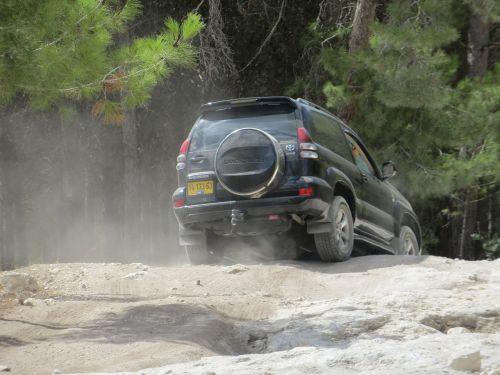 Toyota,off-road,ekstremalios