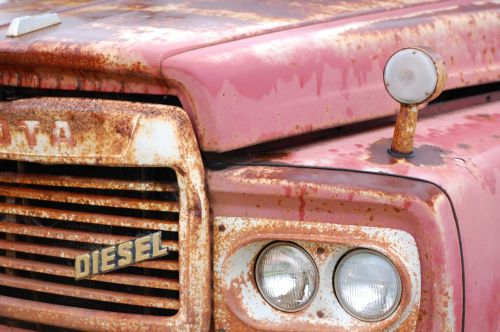 toyota classic car rust