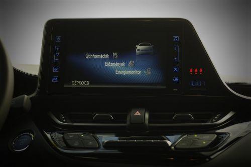 toyota c-hr hybrid car interior