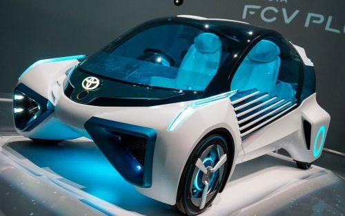 toyota fcv plus concept car