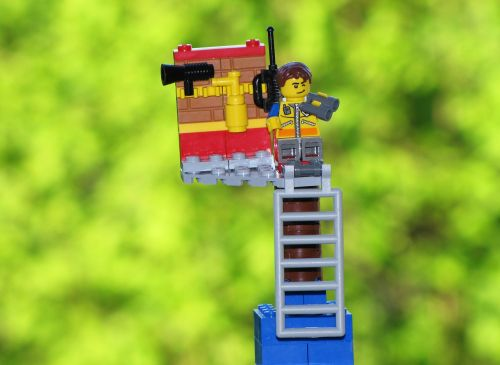 toys observation tower figure