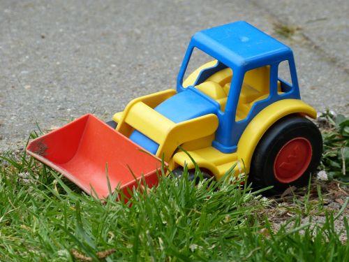 children toys front loader