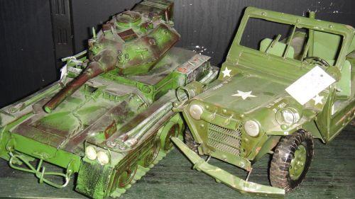 toys cars tank