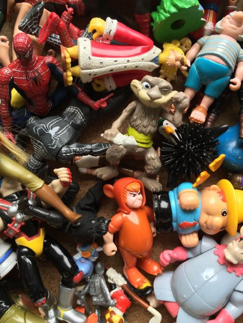 toys figures collect