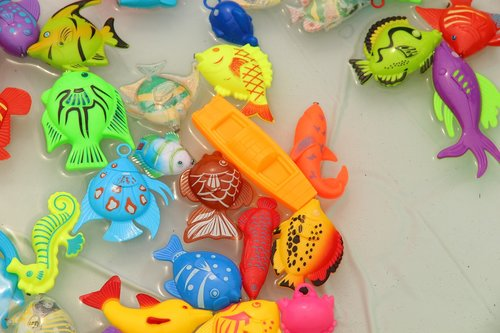 toys  bright  colorful