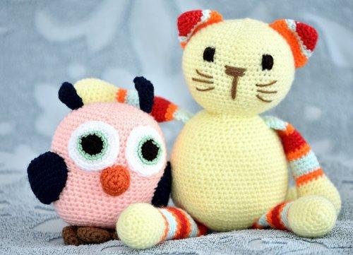 toys  soft  owl