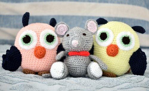 toys  soft  owls