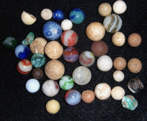 toys marbles old