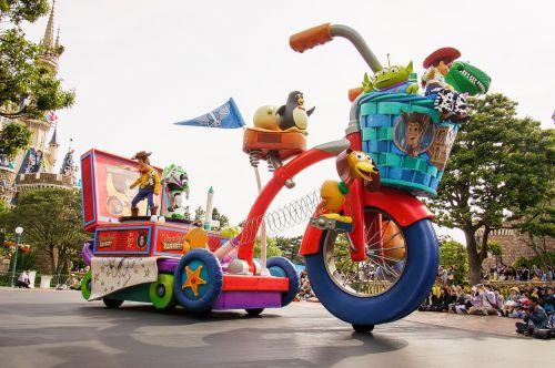 toy's story disney japan