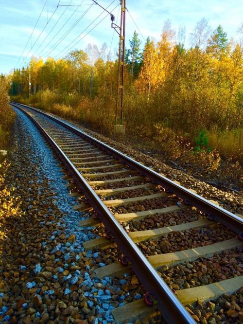track rail railway