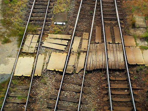 track rail station