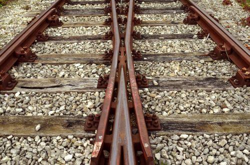 track railroad track seemed