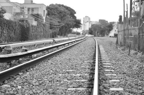 track railroad track train track