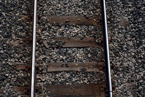 track  railroad track  track bed