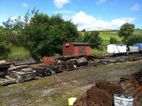 tracks rails disused