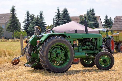 tractor historically agricultural machine