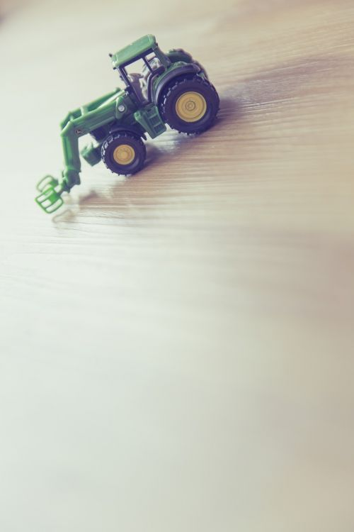 tractor play children's room