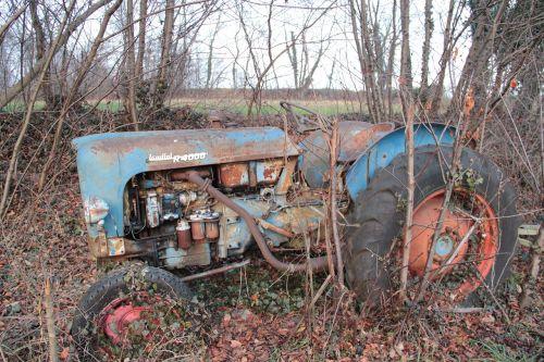 tractor abandonment plants