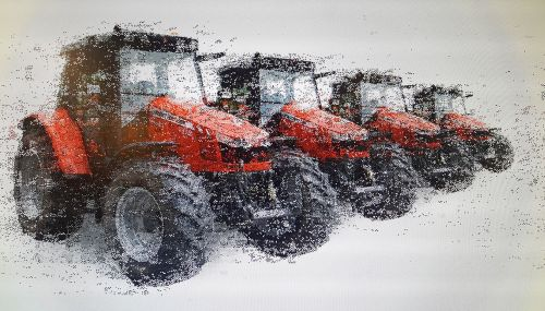tractor machine agriculture