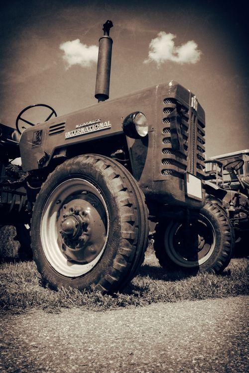 tractor oldtimer old