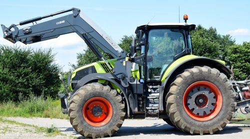 tractor agriculture enormous