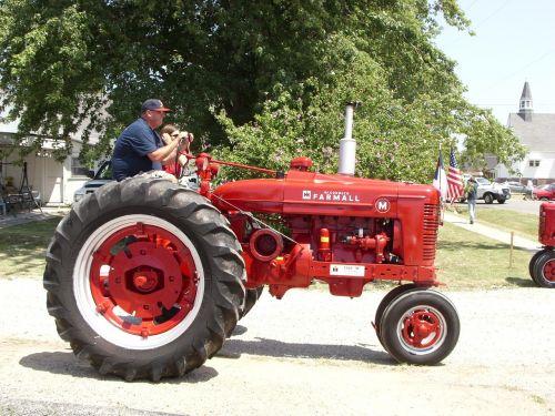 tractor farmer farming