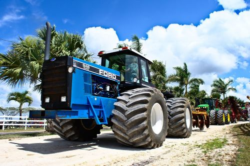 tractor big low angle