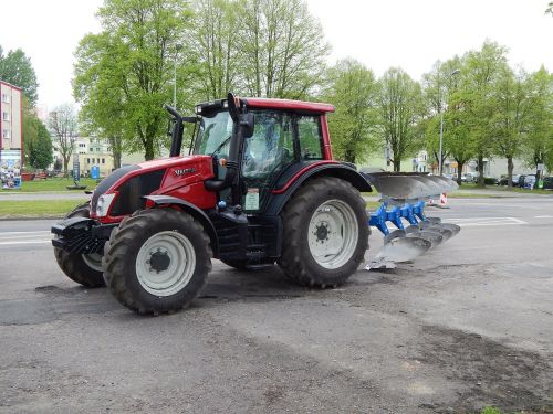 tractor the vehicle agriculture