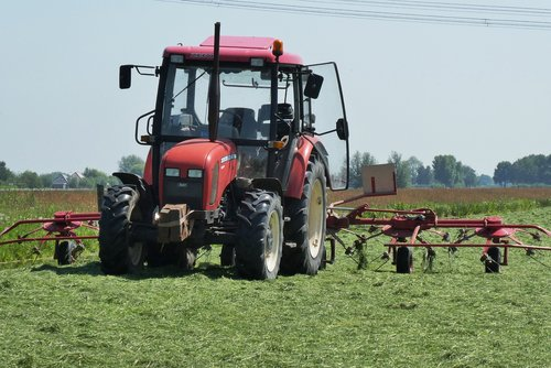 tractor  grass  agriculture