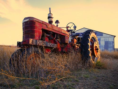 tractor agriculture machine