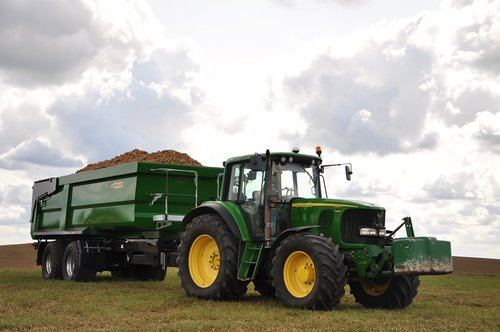 tractor  agriculture  the cultivation of