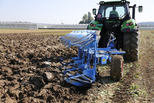 tractor  plough  arable