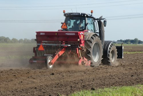 tractor  agriculture  farmer