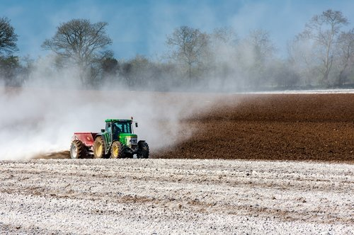 tractor  field  agriculture