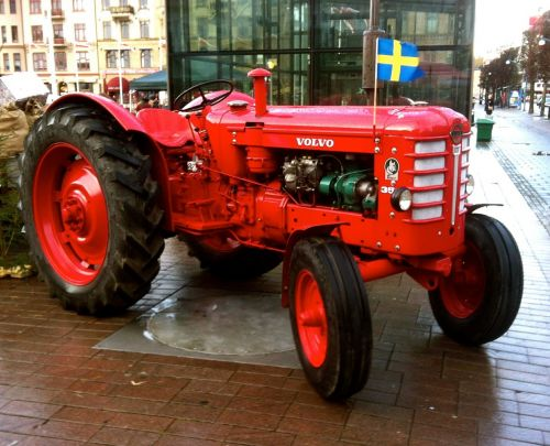 tractor volvo 1959