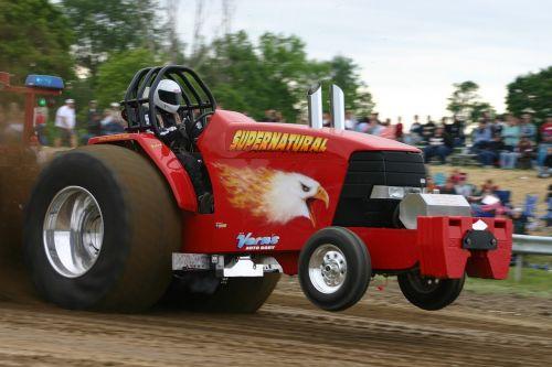 tractor pull wheelie