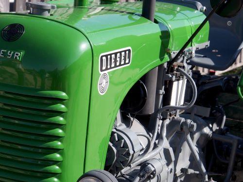 tractor steyr motor