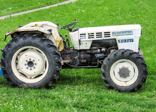 tractors  lamborghini  oldtimer