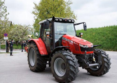 tractors farmer nature