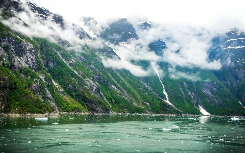tracy tracy arm glacier