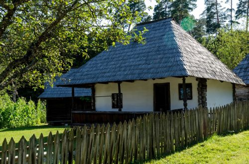 traditional house old