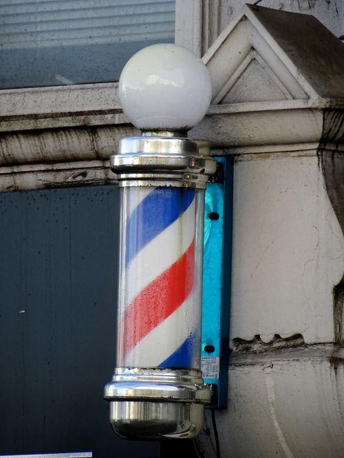 Traditional Barber Shop Pole