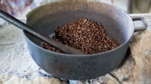 Traditional Coffee Roasting