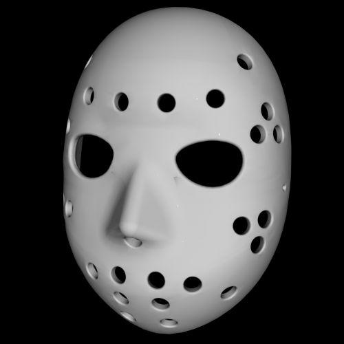 Traditional Hockey Mask